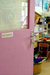 salle de classe ouverte