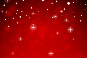 Red design with white stars