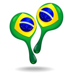 Maracas Percussion Instrument Brazil