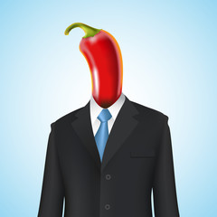 chili pepper man