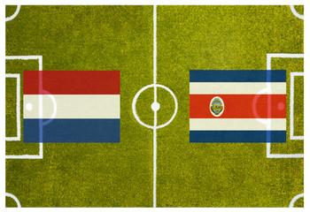 WM 2014 Viertelfinale Niederlande gegen Costa Rica