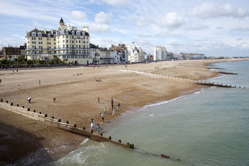 Eastbourne an English seaside resort in Sussex England UK