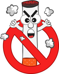 Smoking Ban Cartoon