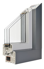 Aluminium/Plastic window profile