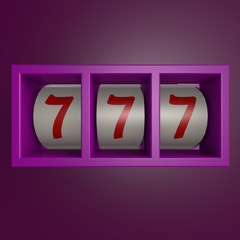 Gamble machine 777