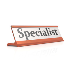 Specialist table tag
