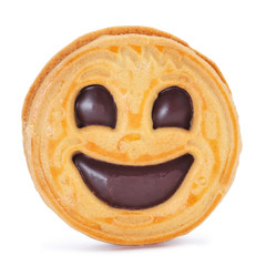 smiley biscuit