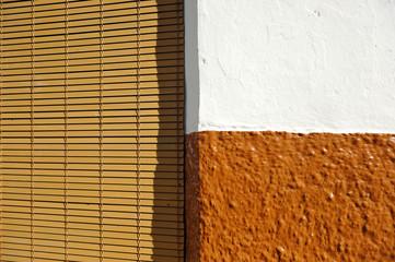 Composición geométrica, fondo, textura, arquitectura popular