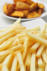 french fries and home fries
