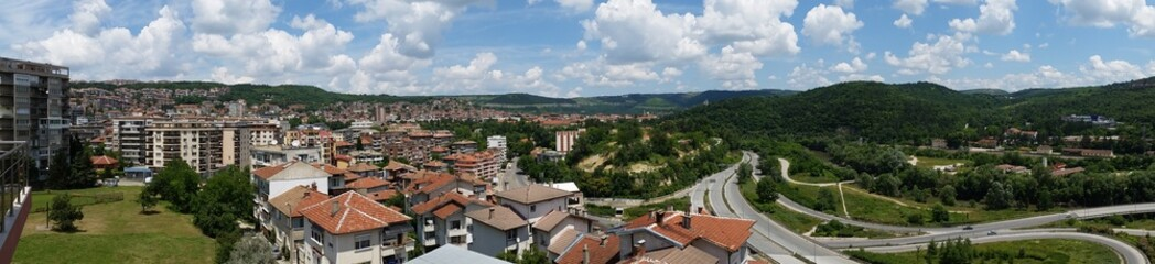View from Veliko Tarnovo