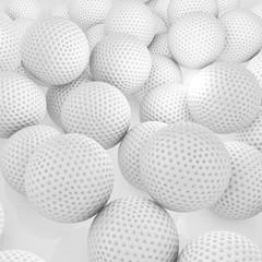 Golfbälle - 3d Render