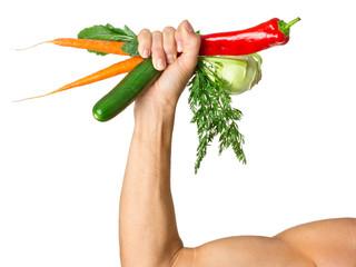 Gemüse macht stark - Gesunde Ernährung