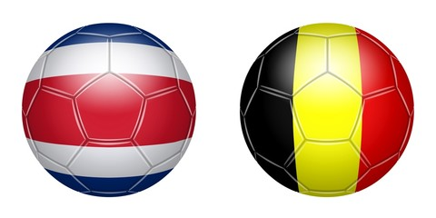 Football. Costa-Rica - Belgium