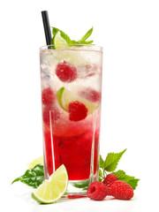 Himbeer-Limetten-Cocktail