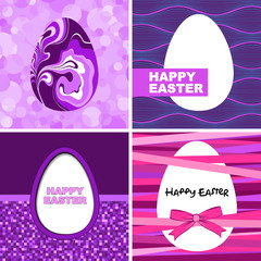 Easter card set.