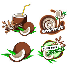 Coconut labels