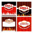 Grill and Barbecue labels