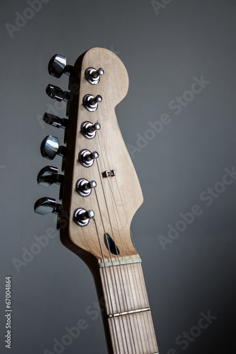 Poster Electric guitar head stock