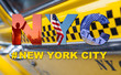 New York City Taxi Cab Tourist Travel