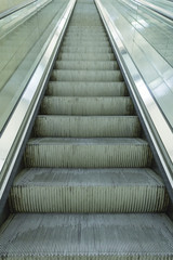 Up escalators