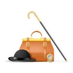 Vector accessories of the gentleman