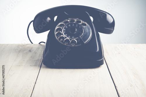 Leinwanddruck Bild call center