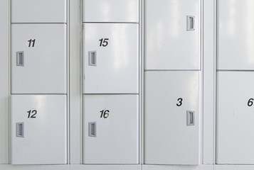 Lockers in station
