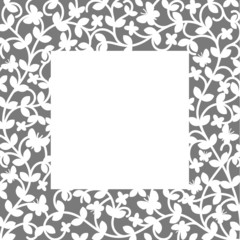 Plant pattern. Eps8 vector illustration