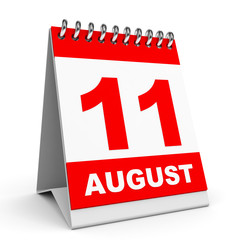 Calendar. 11 August.