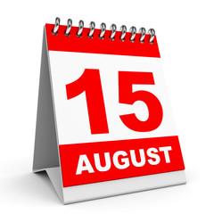 Calendar. 15 August.