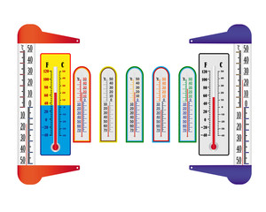 different thermometers