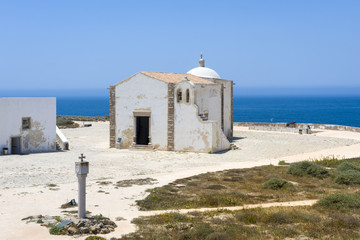 Small Church of Our Lady of Grace at Sagres Fortress