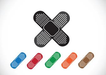 illustration of medical bandage
