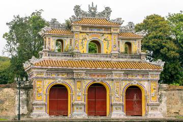 Chanh Tay Gate in Hue citadel, Vietnam