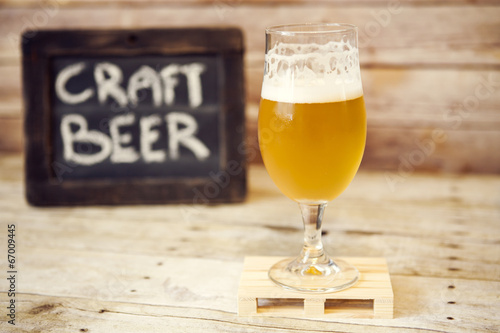 canvas print picture Craft Beer