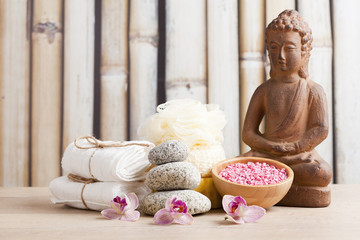 spa and meditation background