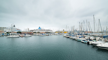 Yacht harbour in Toulon