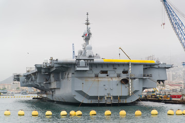 French military nuclear carrier