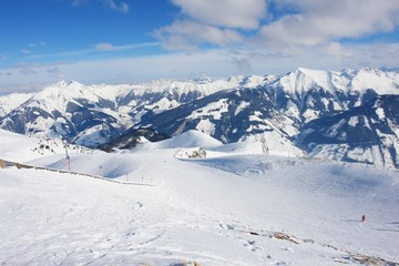 Rauris, ski resort in the Austrian Alps