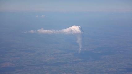 Kraftwerk Luftaufnahme