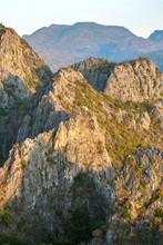 Limestone mountains in Sam Roi Yot National Park, Thailand