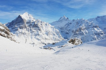 Grindelwald, Mountain Ski Resort First