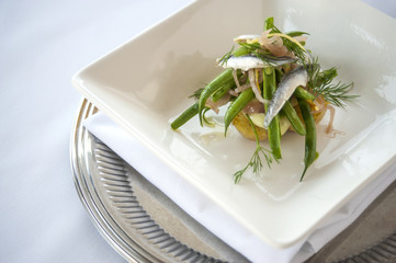Sardine Salad with Green Beans