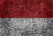 Monaco Flag color grass texture background