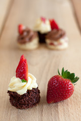 mini cakes for holidays