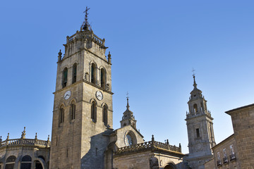 Lugo Cathedral towers