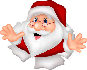 Santa Clause cartoon