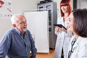 Mature Man At Doctor