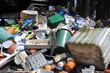 Leinwandbild Motiv Hartplastik, Müll, Recycling, Wertstoff, Abfallwirtschaft