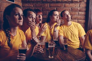 Sport Fans In Pub